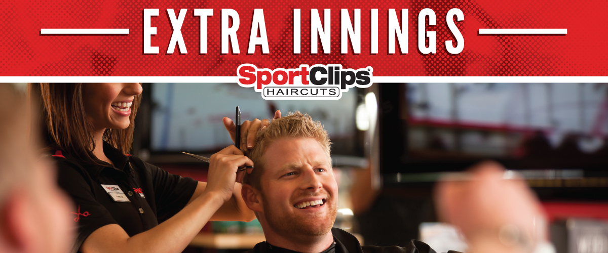 The Sport Clips Haircuts of New Port Richey Extra Innings Offerings